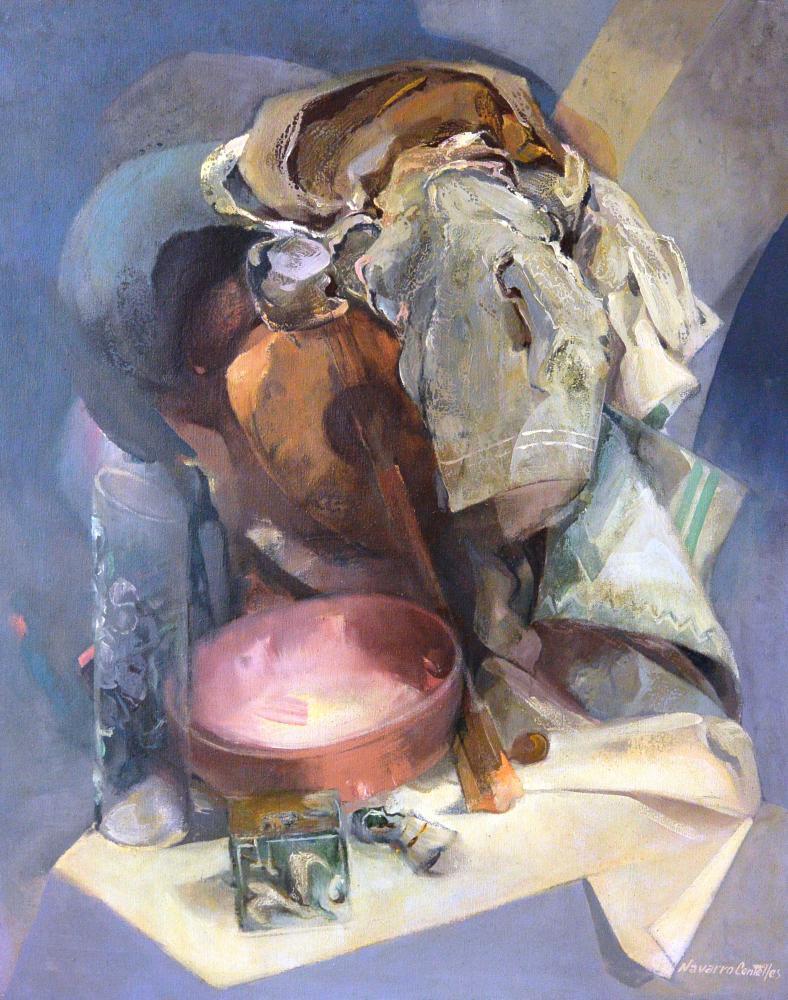 12.Bodegón con bandurria (93x72)-1983 - copia (1)