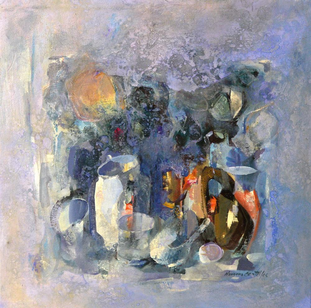 134.Bodegón abstracto (62x62)