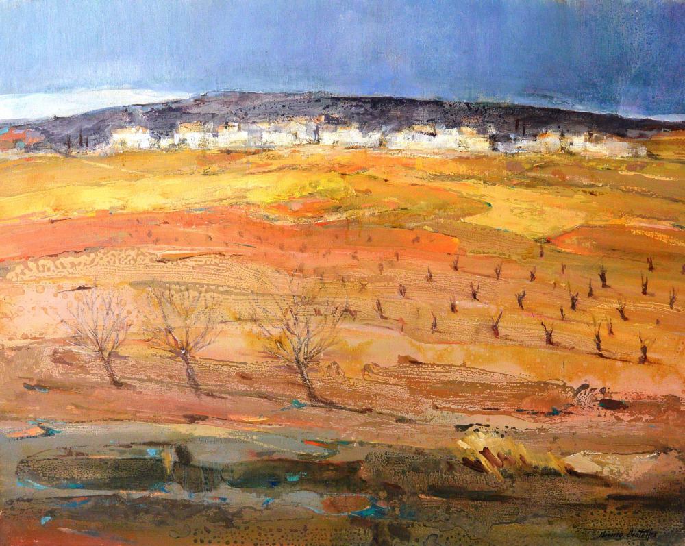 16.Sequía (93x72)-Paisaje 1989 - copia