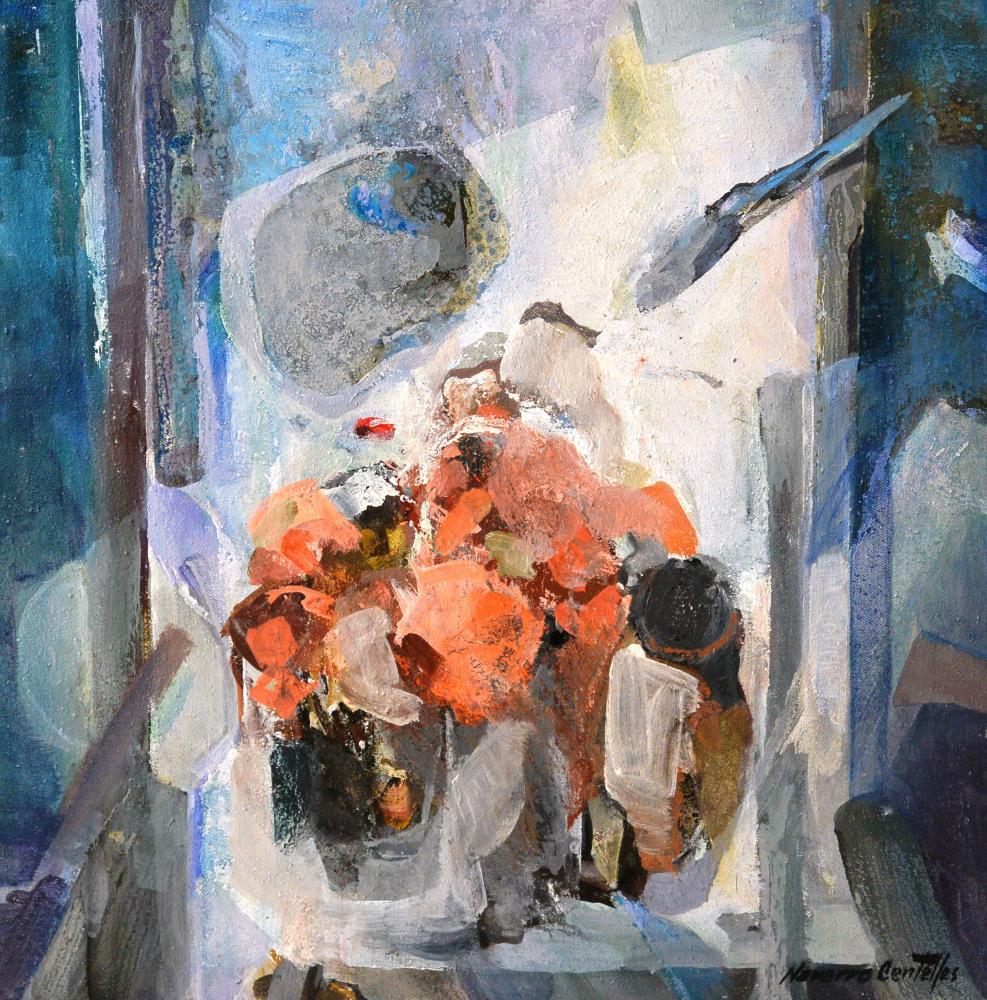 165.Bodegón abstracto (48x48)