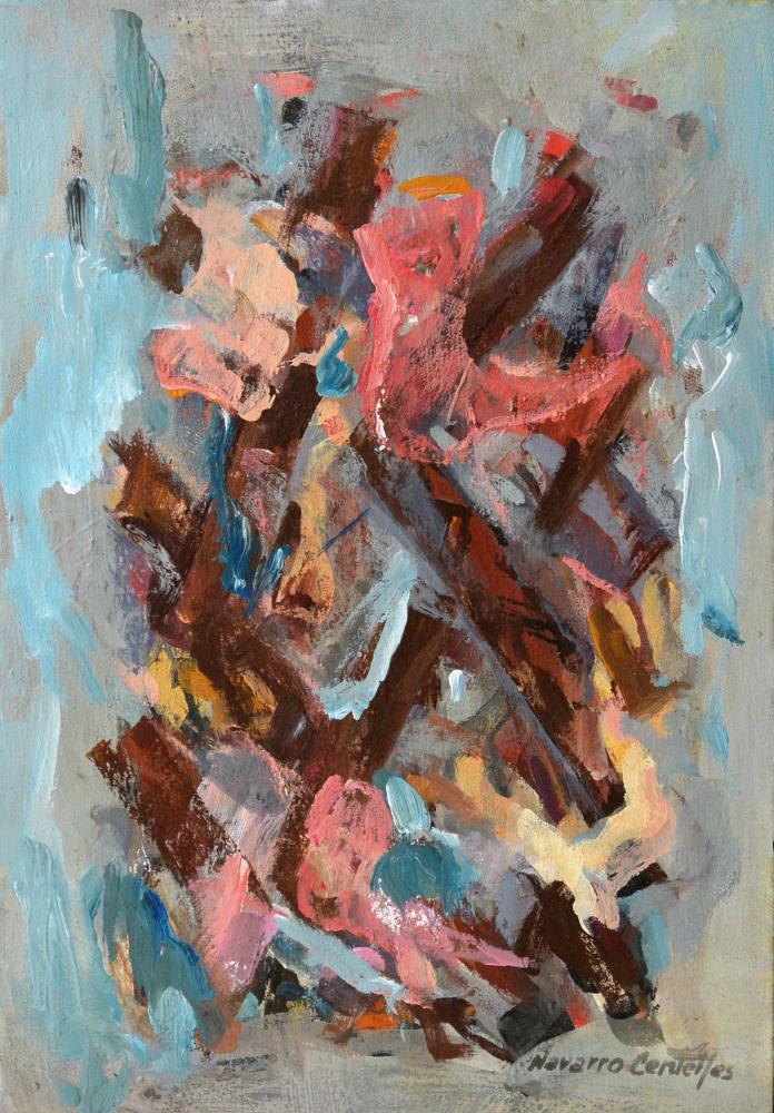 171.Abstracto azules (35x44,5)