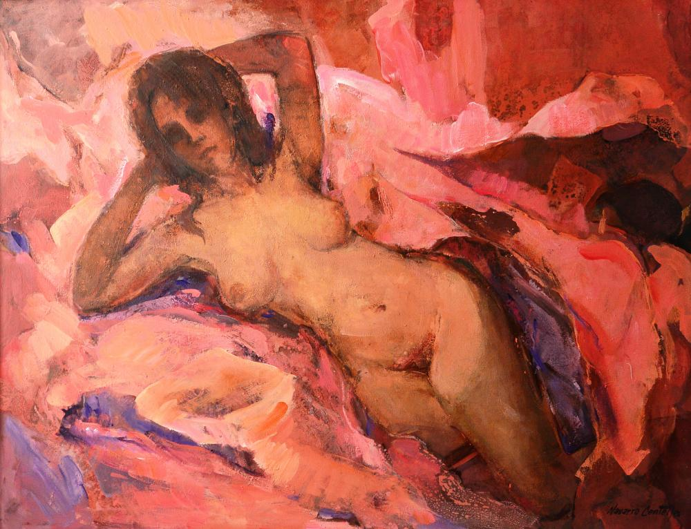 185.Mujer en rojo (116,5x89)
