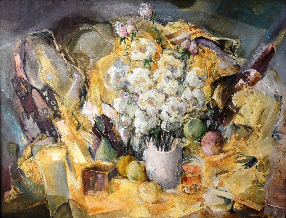 187.Bodegón flores (116x89)