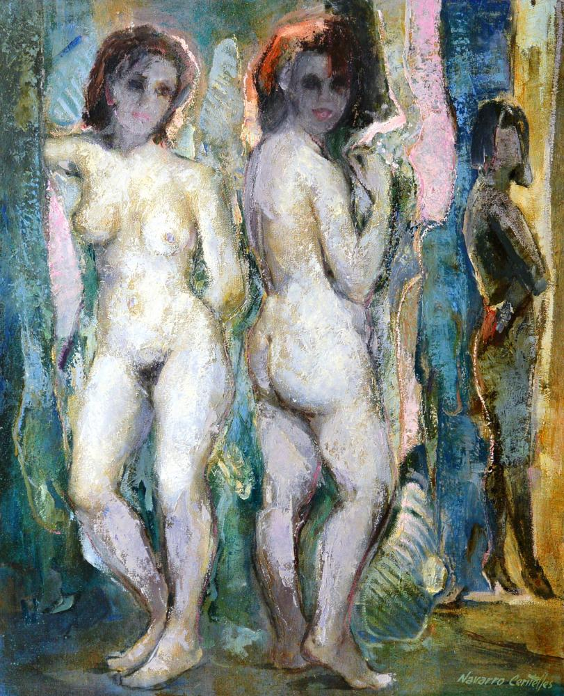 207.Mujeres desnudas (60x73)