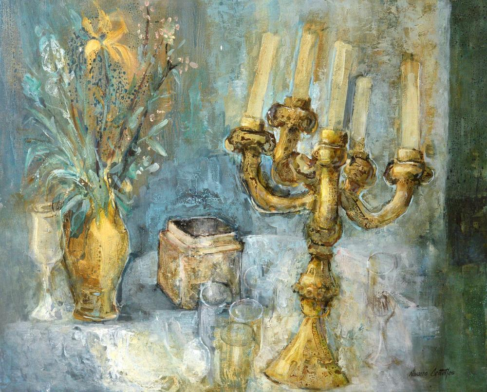 284.Bodegón candelabro (81x65) (1)