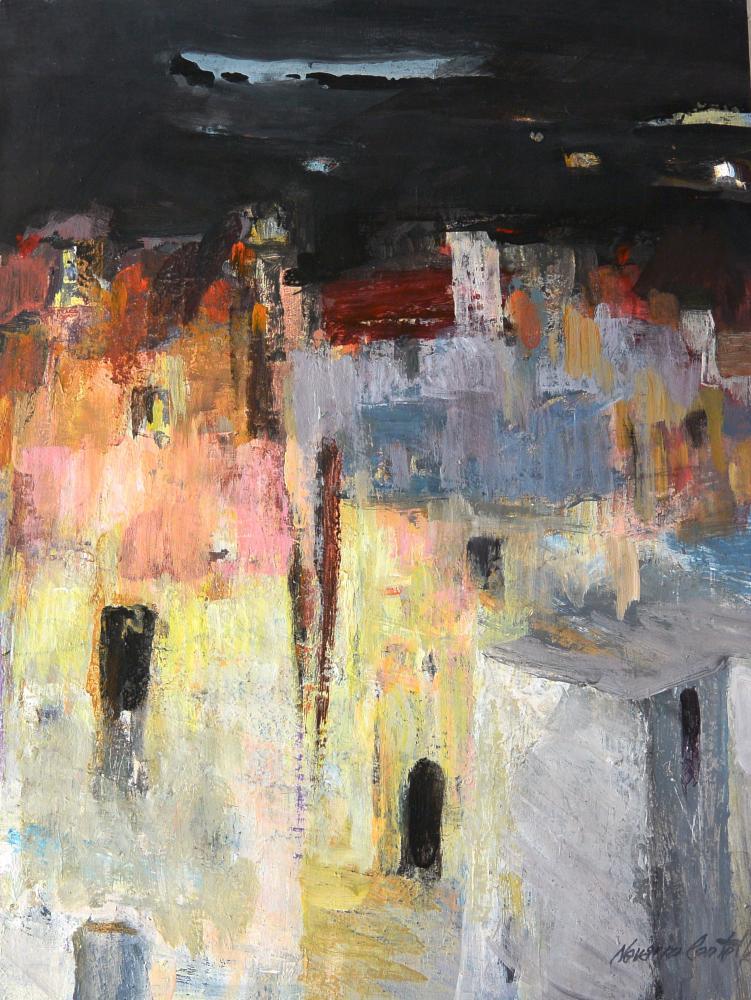 324.Pueblo (64,5x49)-papel