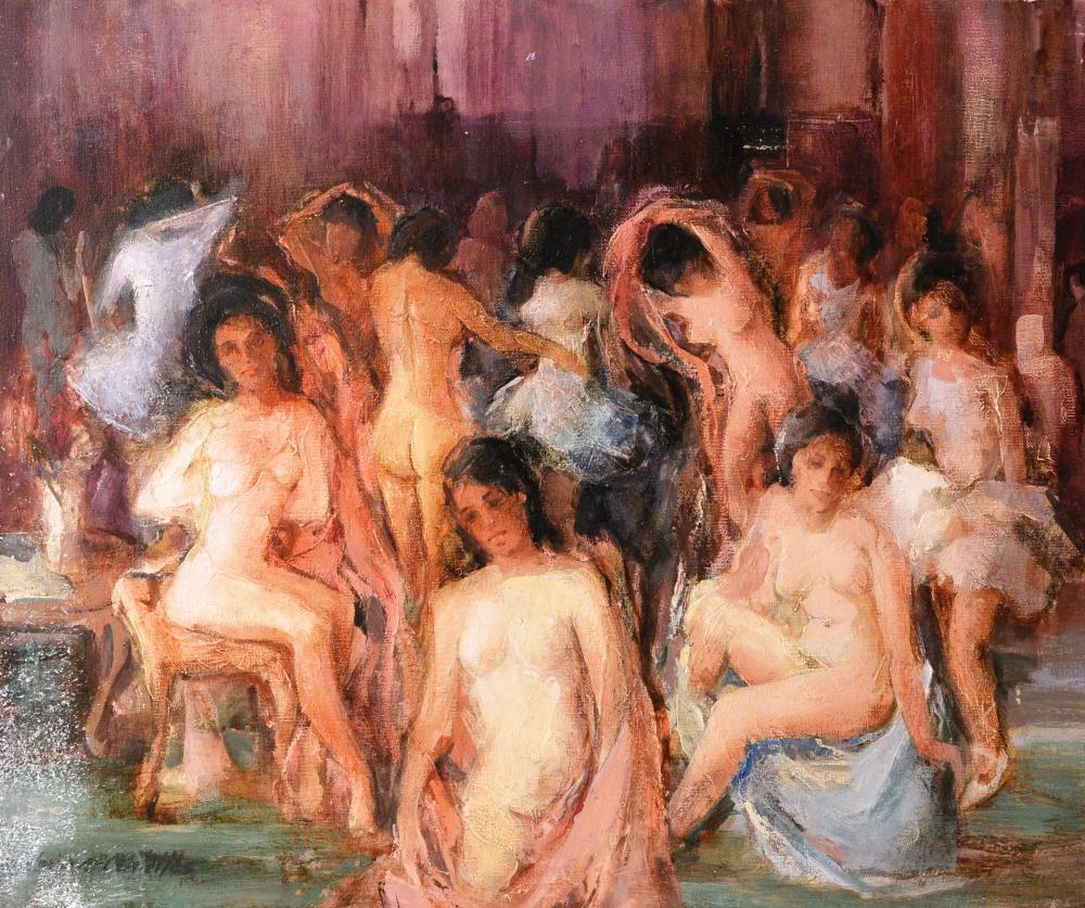 75.El baño (65x54)-1979